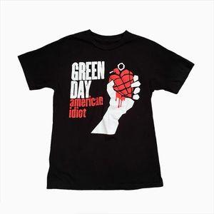 🤎2/$40🤎 Mens Green Day American Idiot Tshirt